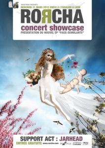 Concert showcase de Rorcha 2e EP